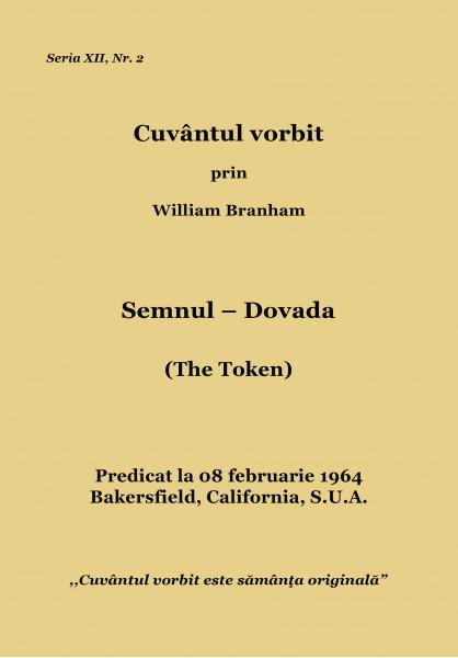 Evanghelia.ro - William Branham - Semnul – Dovada