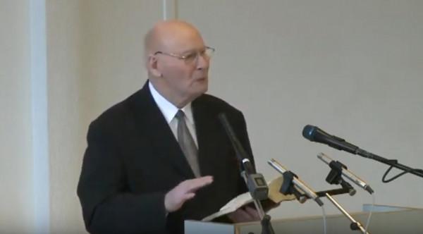 Ewald Frank - Predica din Zurich - 26 martie 2006
