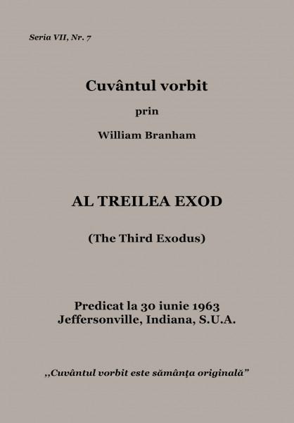 Evanghelia.ro - William Branham - Al treilea exod