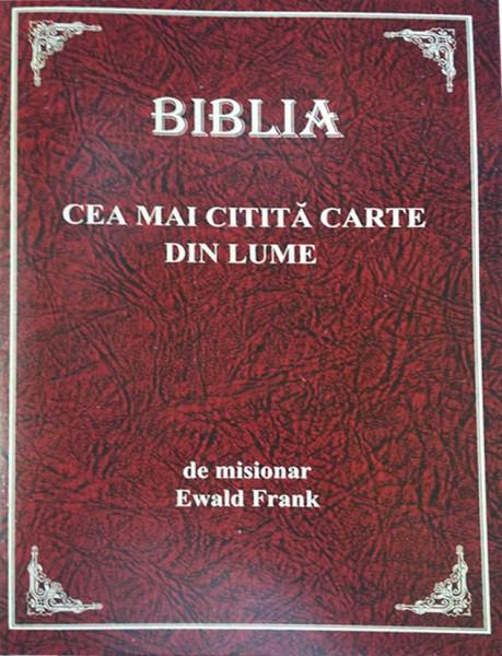 Biblia - cea mai citita carte din lume