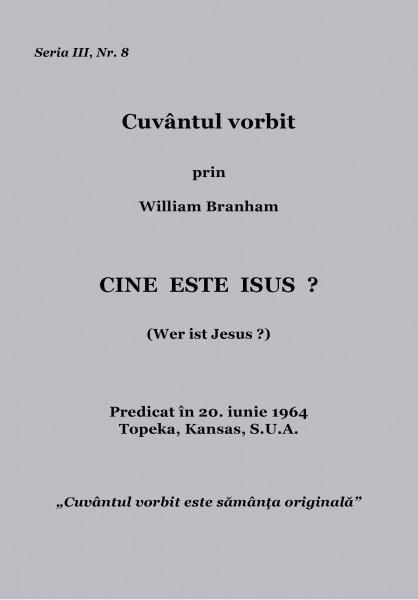 Evanghelia.ro - William Branham - Cine este Isus