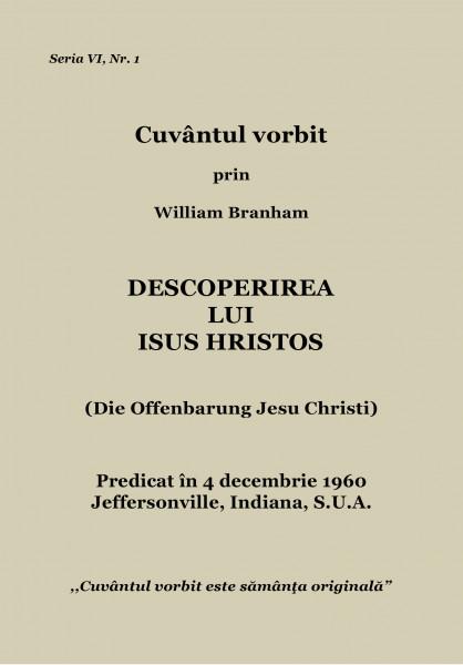 Evanghelia.ro - William Branham - Descoperirea Lui Isus Hristos