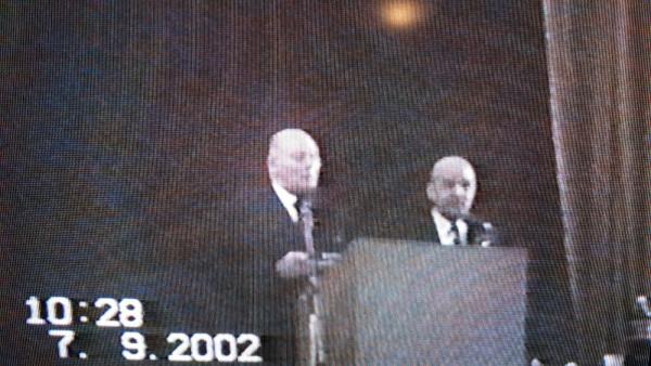 Sfatul fratesc de la Timisoara din 07 septembrie 2002 ora 16