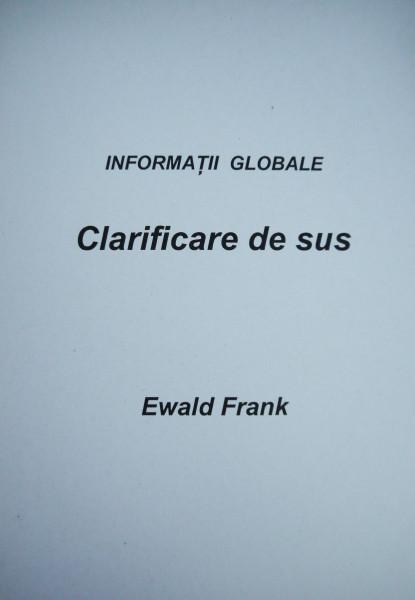 Evanghelia.ro - Ewald Frank - Clarificare de sus