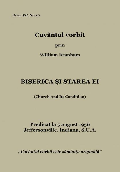 Evanghelia.ro - William Branham - Biserica si starea ei