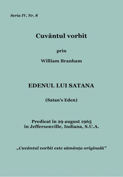 Evanghelia.ro - William Branham - Edenul lui Satana