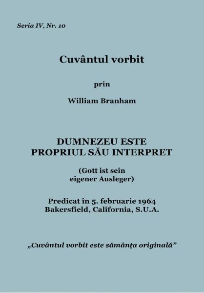 Evanghelia.ro - William Branham - Uniţi sub un singur Cap