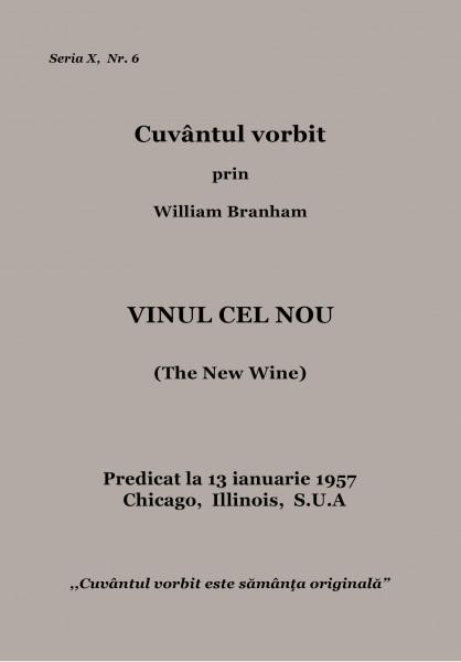 Evanghelia.ro - William Branham - VINUL CEL NOU