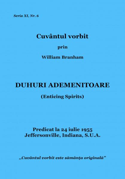 Evanghelia.ro - William Branham - DUHURI ADEMENITOARE Me