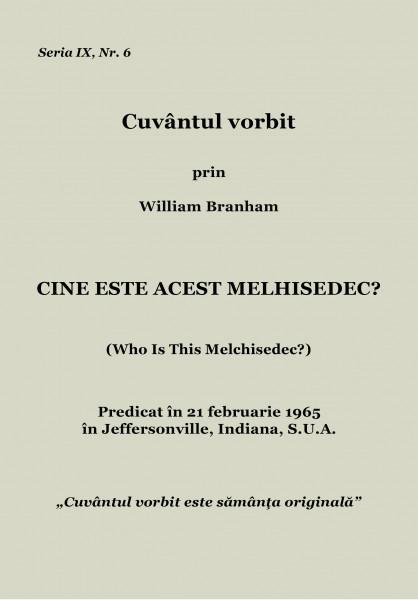 Evanghelia.ro - William Branham - Cine este acest Melhisedec?