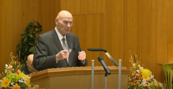 Ewald Frank - Predica din Krefeld - 24 dec.1984