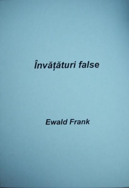 Învăţături false