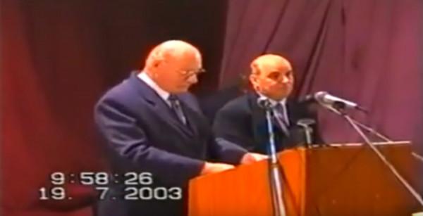 Ewald Frank - Predica de la Timisoara din 19 iulie 2003 ora 10