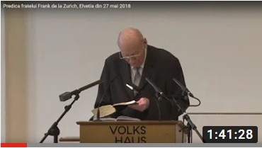 Predica din Zurich - 30 iunie 2002