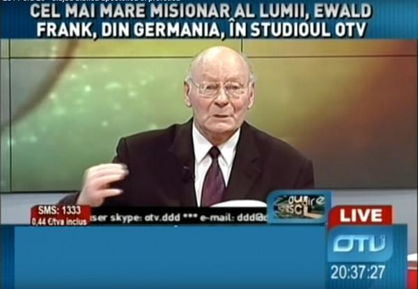 Ewald Frank - Interviul de la OTV din 22 iulie 2011