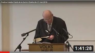 Predica din Zurich - 27 octombrie 2002
