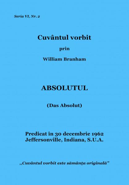 Evanghelia.ro - William Branham - Absolutul