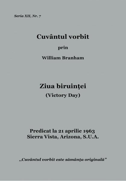 Evanghelia.ro - William Branham - Ziua biruinţei